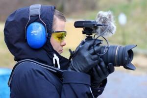 Spiegelreflexkamera im VJ-Einsatz