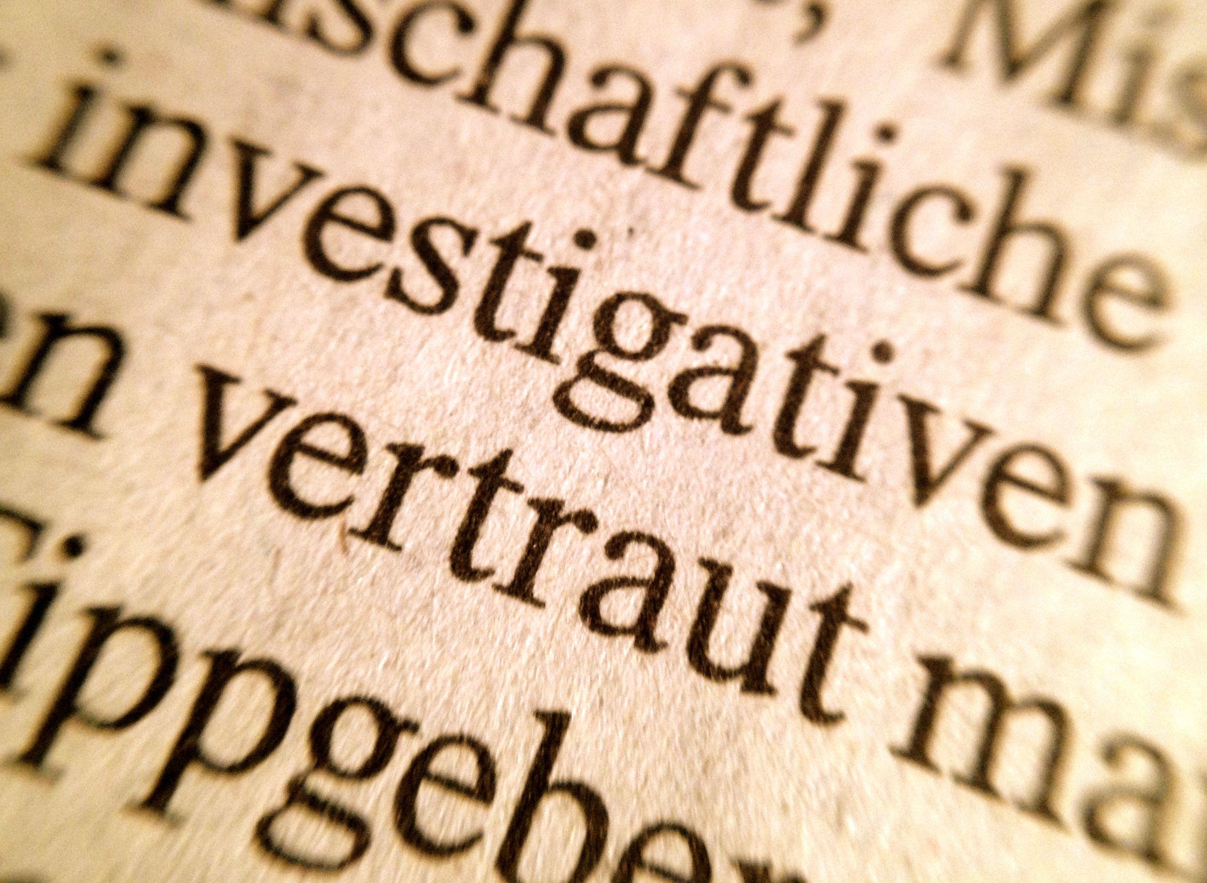 investigativvertraut