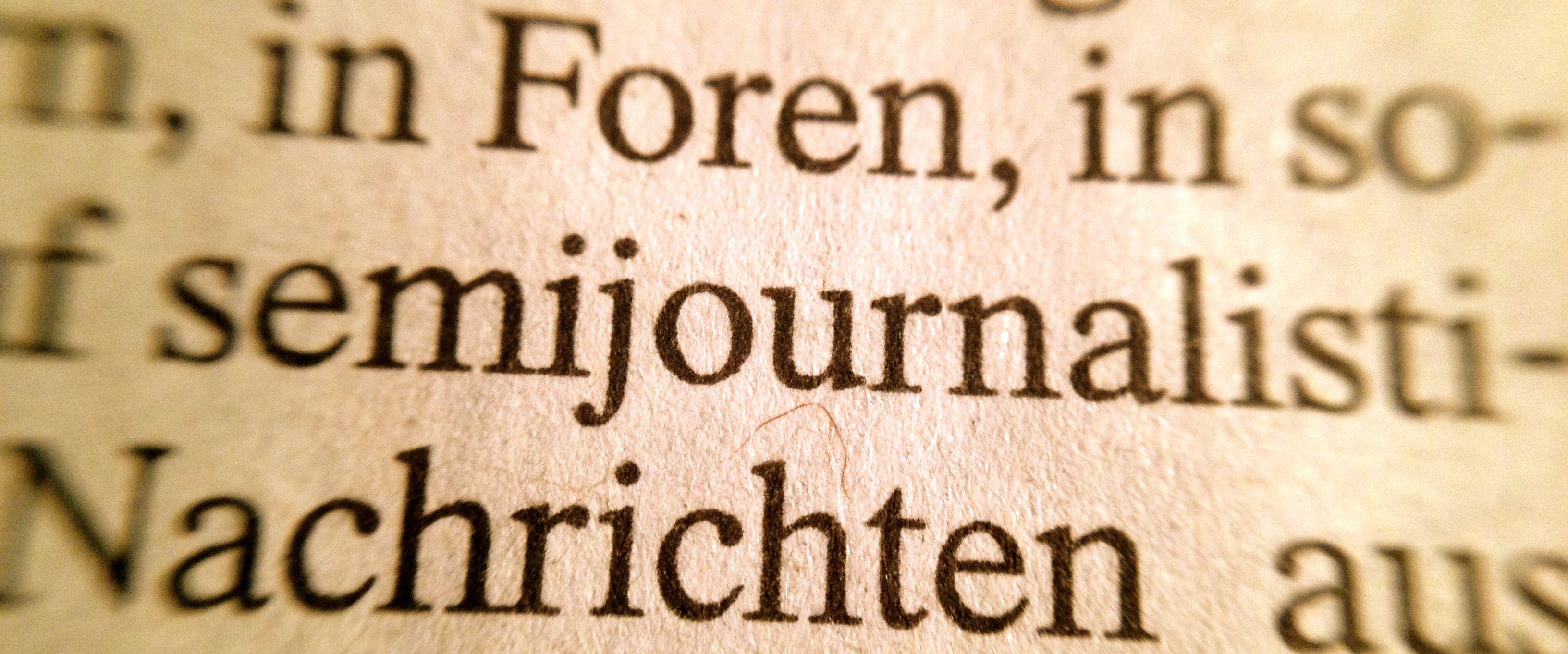 semijournalistisch