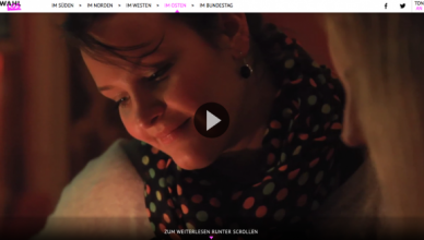"""(Visual Storytelling: Auch bei """"Auf der Strecke"""" aus dem Nichtwählerprojekt wahllos.de stehen Fotos und Videos im Zentrum. Gerade wurde die Web-Reportage der Axel Springer Akademie für den Deutschen Reporterpreis 2013 nominiert.)"""
