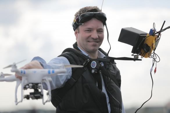 Phil Thoma Video Drohnenjournalist für DIE WELT