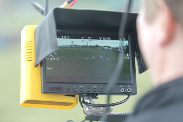 Monitor für Videodrohne DJI Phantom
