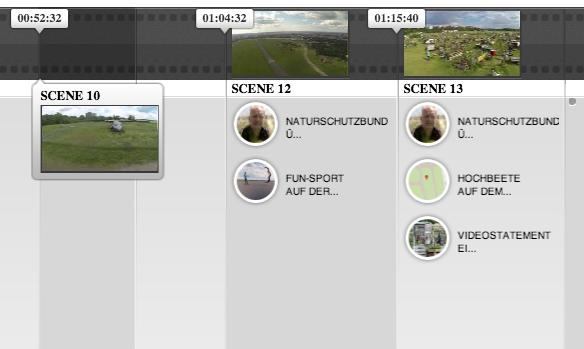 Timeline editieren mit The Mad Video