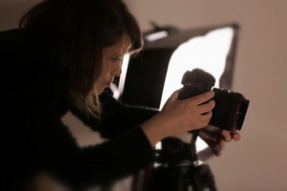 Dreharbeiten für ein Webvideo