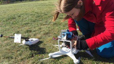 Drohne und 360°-Kamera - geht das? Susanne Dickel und Martin Heller haben es ausprobiert.