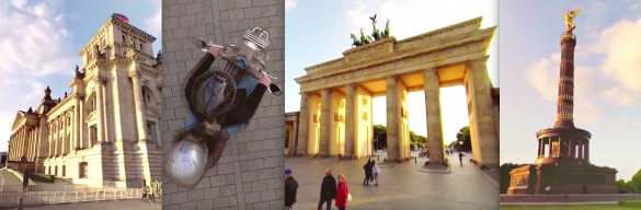 Berlin by Motorbike in 360