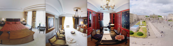 Queen Suite Berlin Adlon VR 360