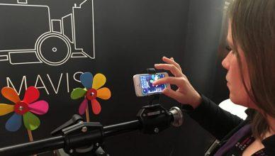 Video App Mavis zum Filmen mit Smartphones