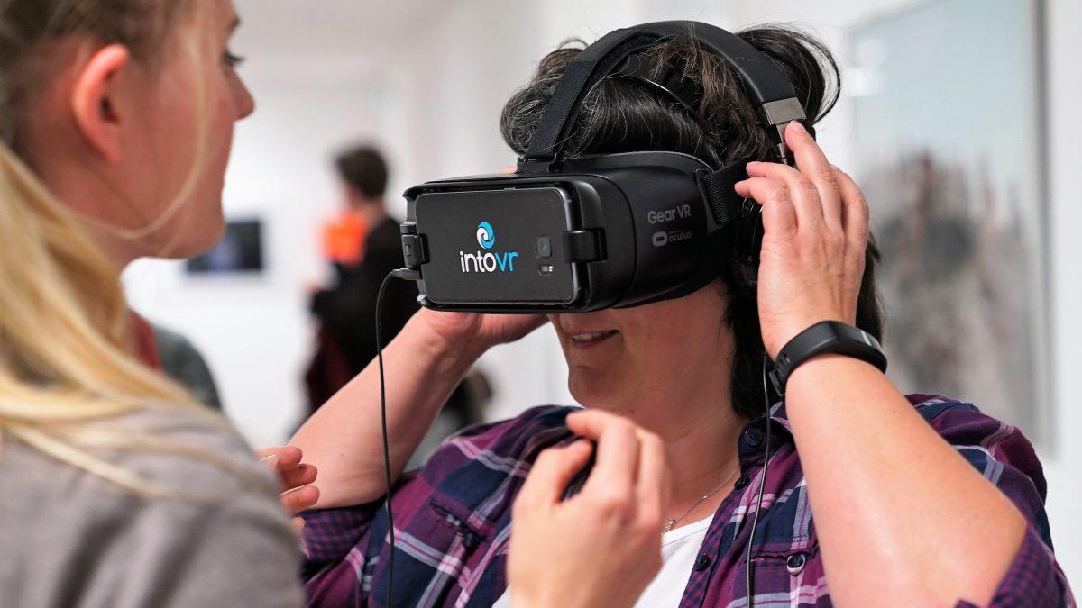 Spannende Inhalte für VR zu erstellen. Darum geht es auch am MIZ.