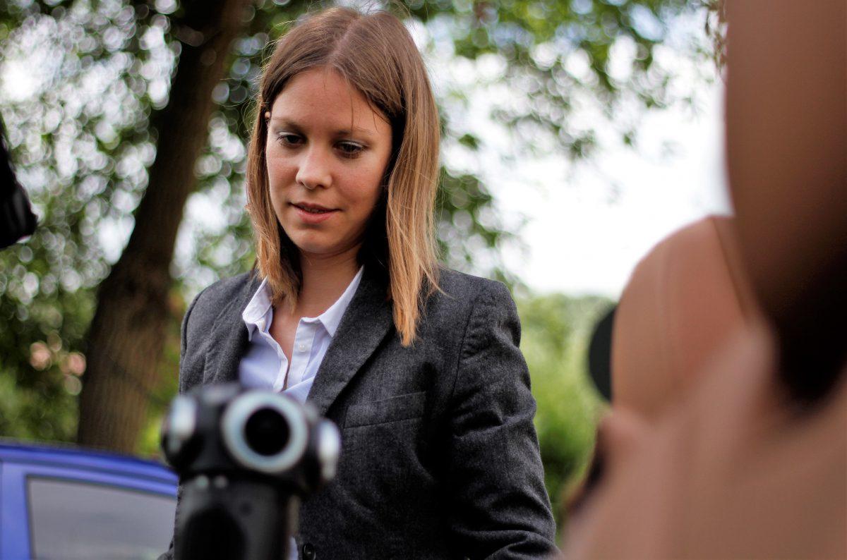 Susanne Dickel im Einsatz für ein VR Projekt mit der 360°-Kamera Z Cam S1 Pro.
